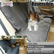 Hot selling Double Side Winter and Summer Waterproof Protective Rear Car Seat Dog Pet Cover