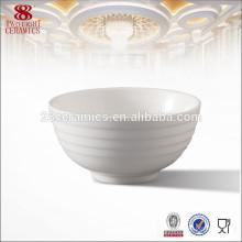 Nuevo plato caliente de China de hueso, tazón de cerámica, fábrica de tazón de porcelana directo al por mayor