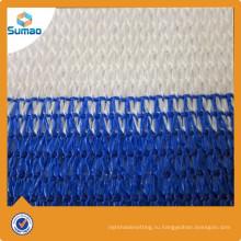 Синий белый сеть тени балкона HDPE UV упорная для напольной Загородки