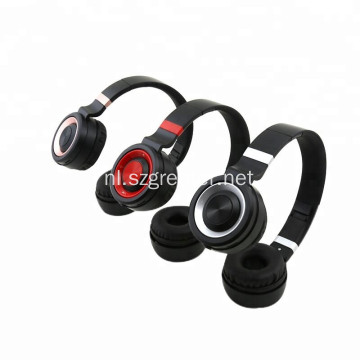Fashion Style Metal glanzende stereo draadloze headset