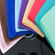 Venta al por mayor Carrand Warp Microfiber Knitting Cleaning Towel