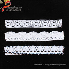 Fashionable Embroidered Polyester Lace Trimming