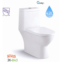 Cupc Ceramic Toilet with Soft Seat Cover (A-JX843)