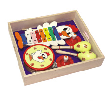 Wooden Musical Instrument Toys in Cartoon Design
