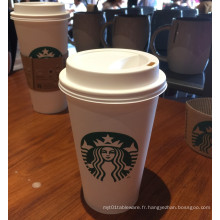 Coupe en papier de haute qualité de café avec PE unique