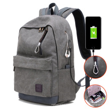 Male Canvas Backpack College Student School Backpack Bags for Teenagers Laptop Mochila Casual Women Rucksack Travel Daypack