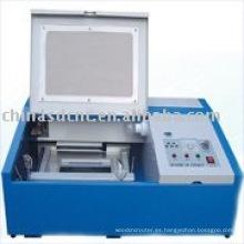 JK-40 muestras, maquinaria del grabado