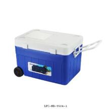 Caja del refrigerador plástico 36L, caja más fresca, caja de hielo