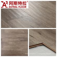Горячая распродажа 12 мм Handscraped поверхности зерна ламинат (AS0007-19)