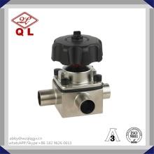 Paslanmaz Çelik Sıhhi Diyaframlı Vana 304 / 316L