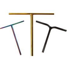 customized size t-bar Gr9 titanium scooter bars