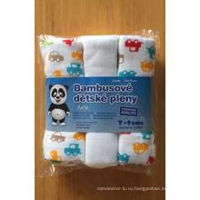 100% хлопок Baby печати пеленки (BC-BD1001)
