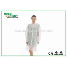 Comfortable Coloured Disposable Lab Coats Non Toxic For Hos