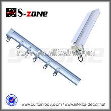 Rail de rideau flexible PVC flexible en L en forme de L en Chine depuis le fabricant chinois