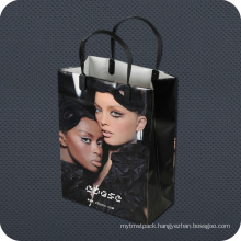 Plastic Retail Shopping Bag with Clip Handle