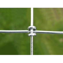 Galvanized Steel Wire Horse Fence Mesh / Pertanian Pagar