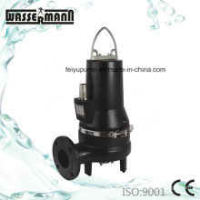 Cutting Type Submersible Sewage Electric Water Pumps with Flange Ports