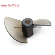 FT012 RC que compite con la pieza de repuesto del barco de los rotores del barco