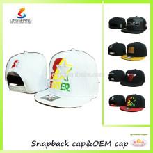 Gorra de hip hop de los sombreros de los deportes del snapback de encargo de la alta calidad
