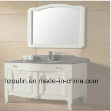 White Wooden Bathroom Furniture (BA-1144)