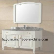 Weiße Hölzerne Badezimmer-Möbel (BA-1144)