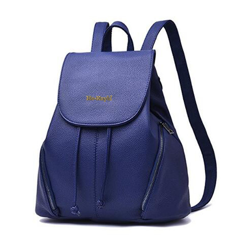 Women Casual Leather Backpack