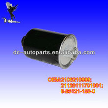 Filtro de combustible automático 2108210999,21120111701001,8251211500,4801358 para ISUZU Gemin, LADA Kalina, LADA Niva, Lada Nova, Lada Samara
