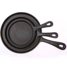 Cast iron steak skillet pan