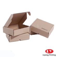 Custom printed corrugate mailer box