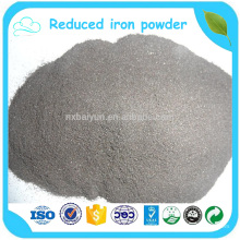98% de poudre de fer réduite en pureté