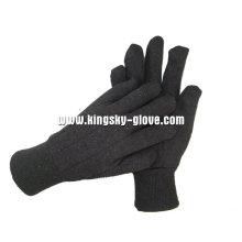 8 унций коричневый вкладыш Джерси хлопка работы перчатки