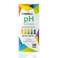 Tiras de prueba de pH de saliva en orina 4.5-9.0