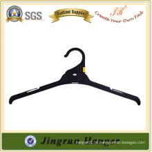 Gancho de plástico para suspensão de vestuário popular para vestidos