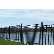 Ornamental Steel Flat Top Fences