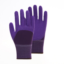 Polyester Latex 3/4 Foam Coated Safety Gloves