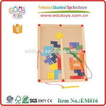 Магнитные деревянные игрушки