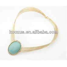 Art und Weisehalskettenharzhalsketten-hängende Halskettencharme