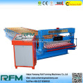 Corrugated roofing sheet bending roll membentuk mesin