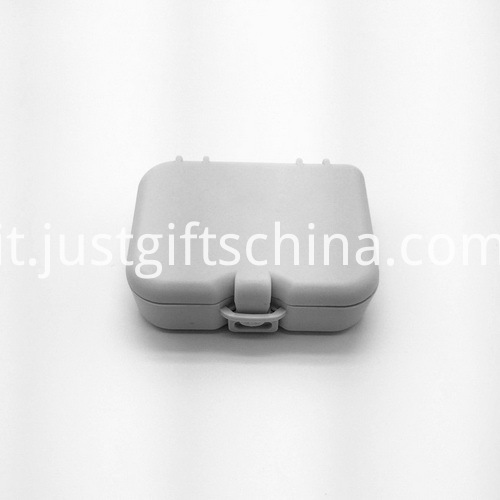 Promotional Square Denture Box With Mirror And Brush_5
