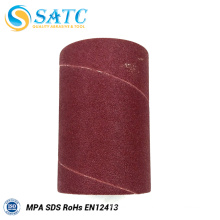 Top quality aluminum oxide grain sanding bands sanding sleeve About