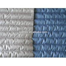 Tecido de Stripe acolchoado, acolchoado tecido térmico, acolchoado para baixo do tecido de revestimento