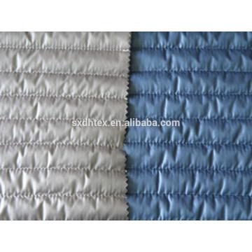 Banda acolchada tela acolchado térmico, acolchada hacia abajo de la tela de la capa