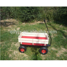 Wooden cart with metal tray TC2017