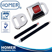 super 2 points aircraft seat belt stainless