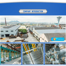 1X7-2.64 milímetro filo de alambre de acero galvanizado del surtidor chino