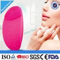 Cepillo de limpiamiento facial recargable Mini Massager eléctrico de silicona Facial Cleanser