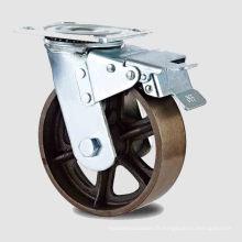 Roulette de roue en fonte de frein à double pédale à double type (KHX3-H11-A)