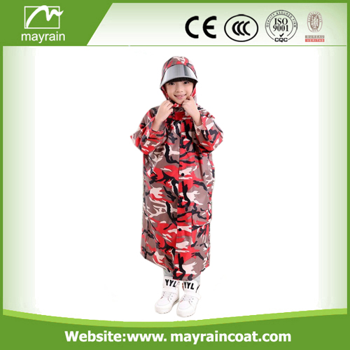 Waterproof PVC Kids Rainsuit