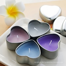 Sensimar Heart Tin Pure Soy Wax Candle