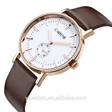 China Watch Factory Fashion Men Lady Stainless Steel Quartz Watch Carfenie brand
